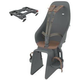 Urban Iki Kindersitz für Gepäckträger bincho black/kurumi brown